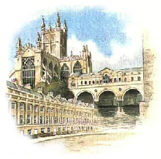 Illustration of Bath